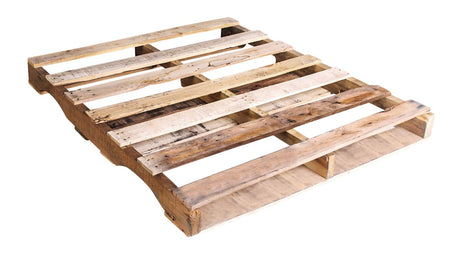 "48"" X 40"" Recycled Wood Pallet Grade A -  An Economical way to move, store or protect products. Tough, durable wood is stackable and reusable. Fork Access: 4 Way Entry. Weight Capacity: 2,500 Ibs."