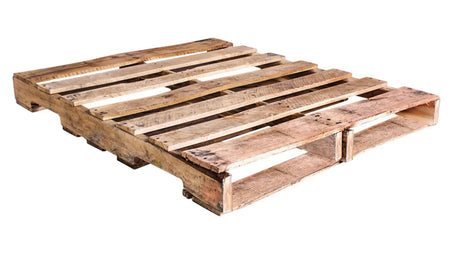 "48"" X 40"" Recycled Wood Pallet Grade B - An Economical way to move, store or protect products. Tough, durable wood is stackable and reusable. Fork Access: 4-Way Entry. Weight Capacity: 2,500 Ibs."