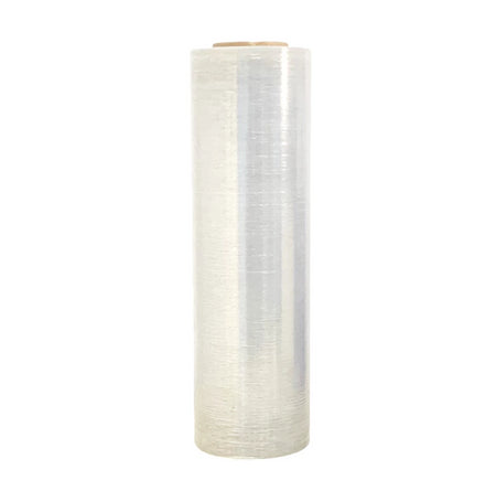"Blown Stretch Film 18"" x 80 Gauge x 1500' is great for wrapping irregular loads. Works well in temperatures down to -5° F. 80 Gauge for loads up to 2,500 lbs."