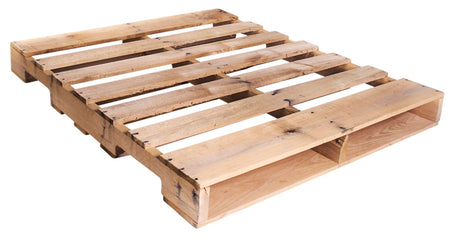"48"" X 40"" - New GMA Wood Pallet Economical way to move, store or protect products. Durable, Stackable, and Reusable. 4-Way Entry. 2500 Ibs. Capacity."