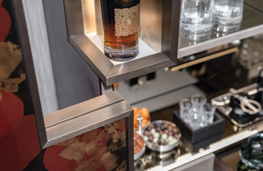 ZenQ Home Decor and Design Blog Post Design Choice Drink Cabinets