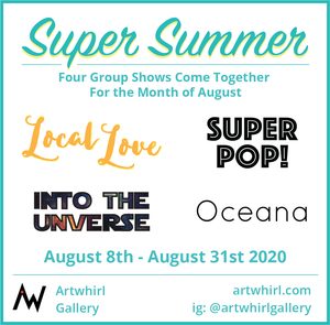 The Super Summer opens August 8th ONLINE!