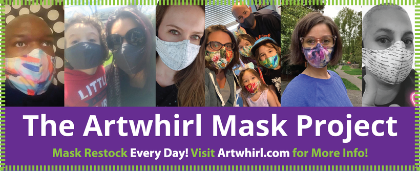 The Artwhirl Mask Project