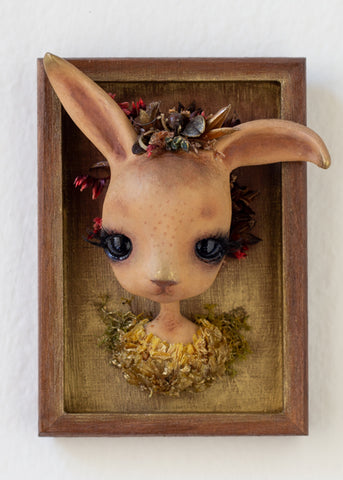 """Falora the Fall Bunny"" - Ozlem Akin"