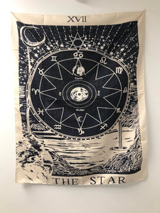 """The Star"" Tarot-Inspired Tapestry"