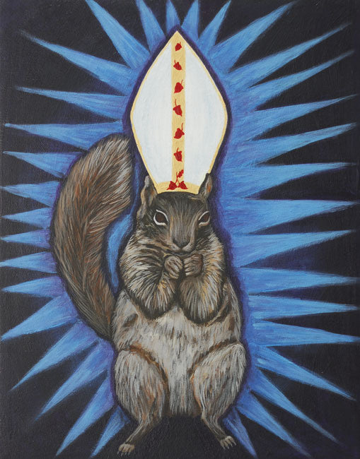 """Holy Squirrel!"" - Michelle Waters"
