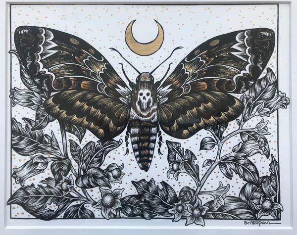 "Brittni Paul - ""Circle of Death"" Print"