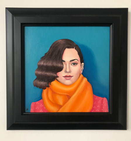 "Arabella Proffer - ""The Orange Scarf"""