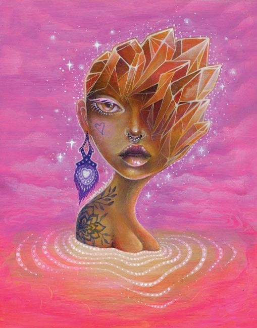 "Phresha - ""Facets Of The Mind II"" Print"