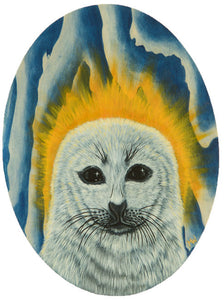 """Harp Seal Saint"" - Michelle Waters"