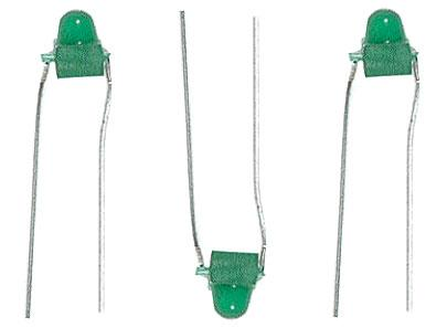1.5mm LEDs [12 pcs, Green]