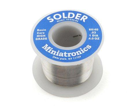Rosin Core Solder 60/40  [4 oz]