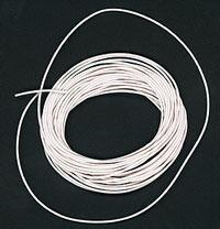 30 Ga Ultra Flex Stranded Wire-Single Conductor [10 Ft, White]