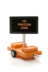 No Passing Zone O Scale