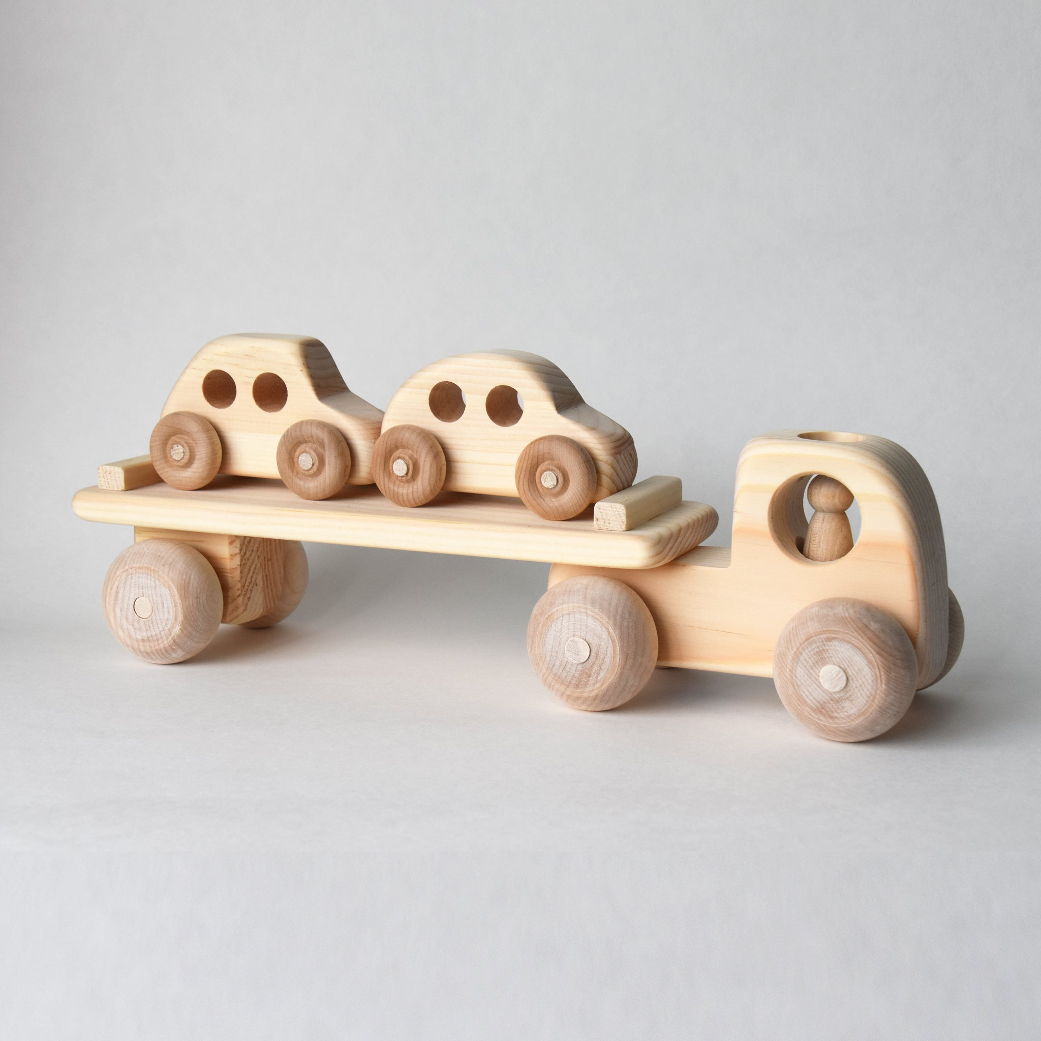 Wooden Toy Car Carrier | Salt Air Supply