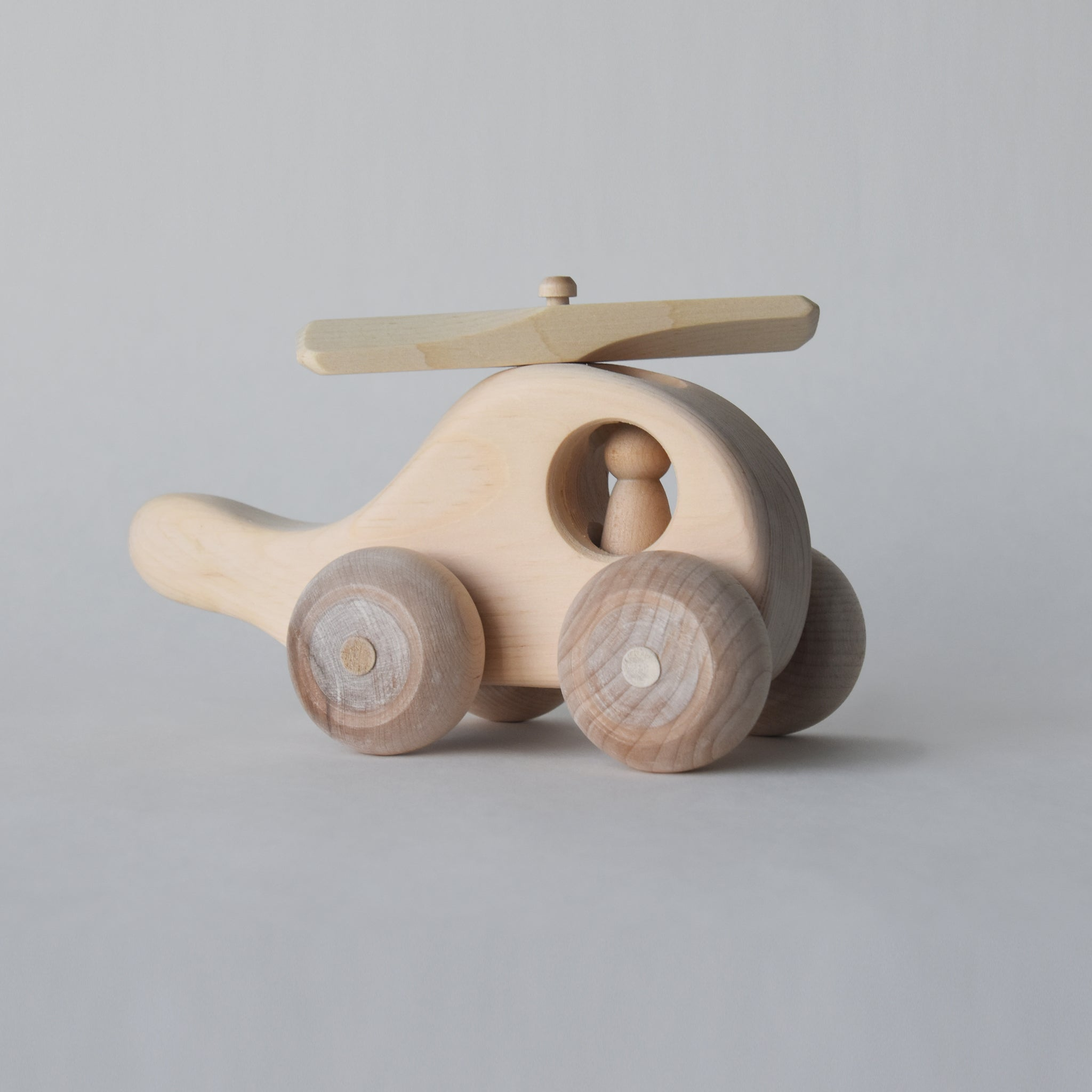 This is the best toy helicopter for those who love handmade wooden toys | Salt Air Supply