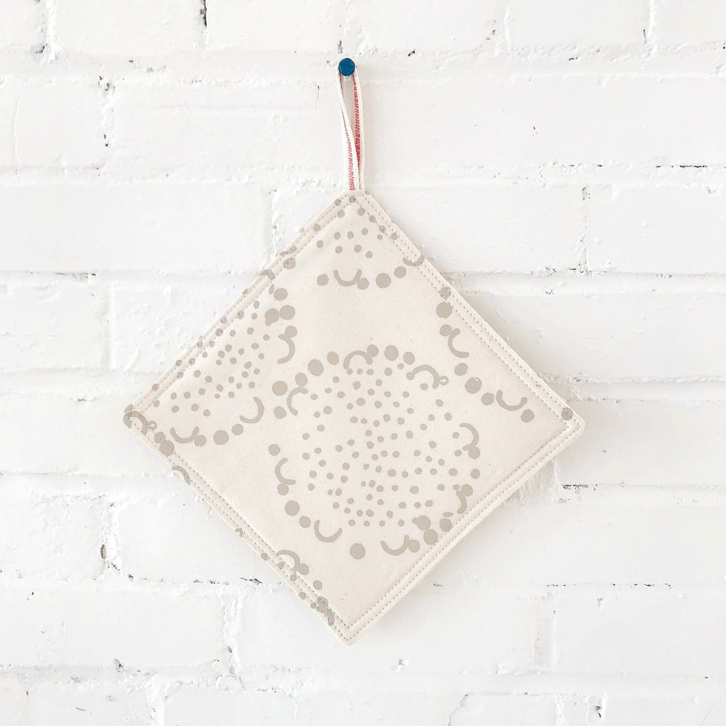Cotton potholders handmade in Maine | Salt Air Supply