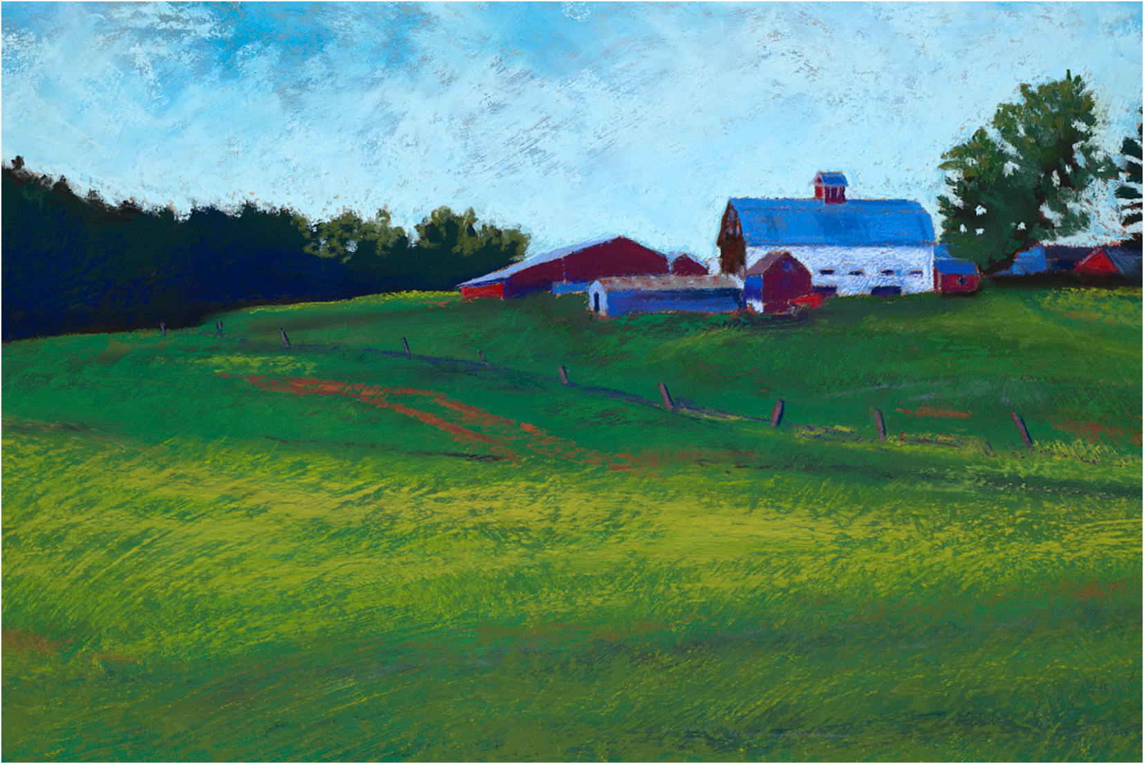 Wrights Farm Greeting Card