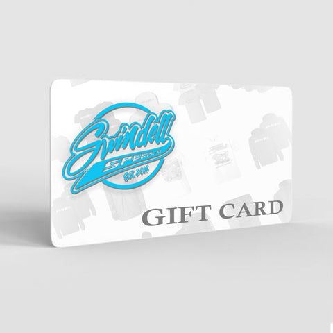 Gift Cards:  $10-$200