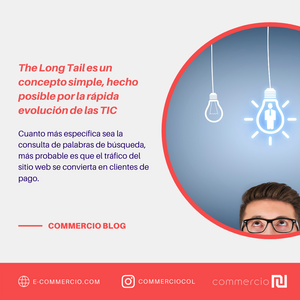 Long Tail Concepto Marketing Negocios Commercio