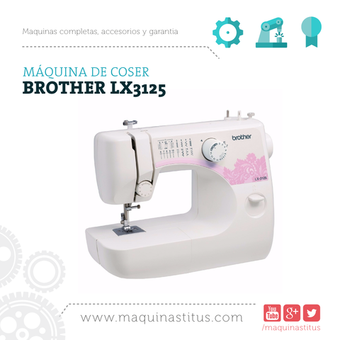 Lx 3125 Brother Maquina De Coser Familiar