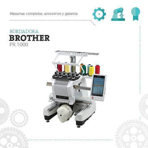 Bordadora Brother Pr 1000 Maquina De Coser Pro