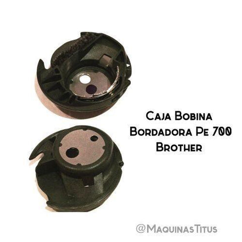 Caja Bobina Para Bordadora Pe700 770 780 Brother Original