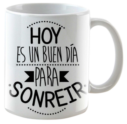 Mug Blanco 11 Onzas INK 007