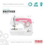 XL2610 Brother Maquina De Coser Familiar