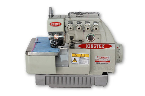 Fileteadora Mecatrónica Kingter KT 737 F AT Máquina De Coser