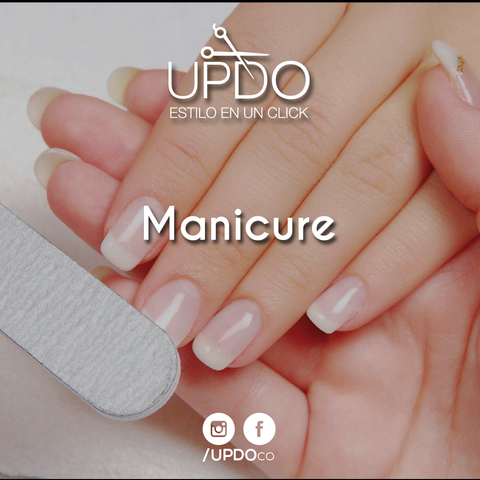 Manicure Hombre Updo He UP 043