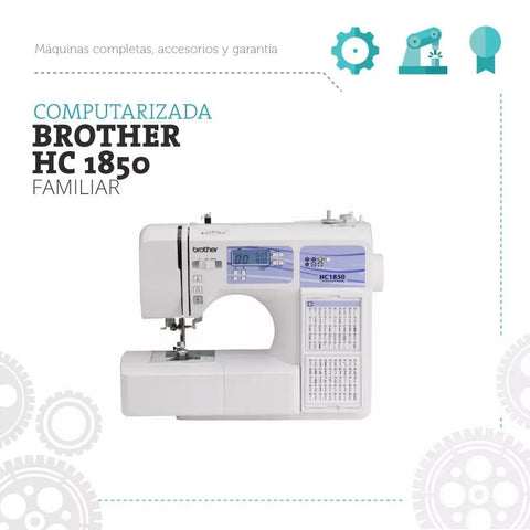 Hc 1850 Brother Maquina De Coser Familiar