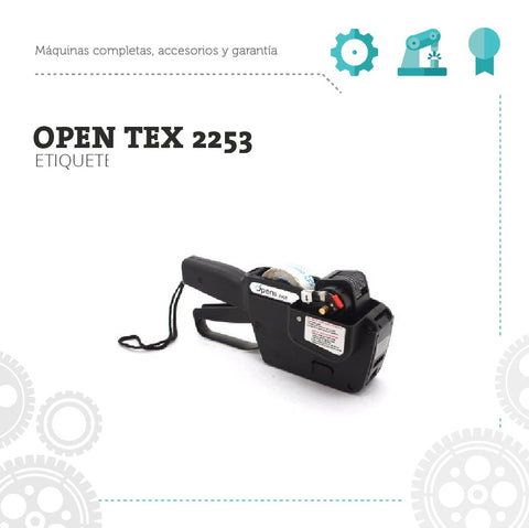 Etiquetadora Manual Open Tiqueteadora Tex 2253