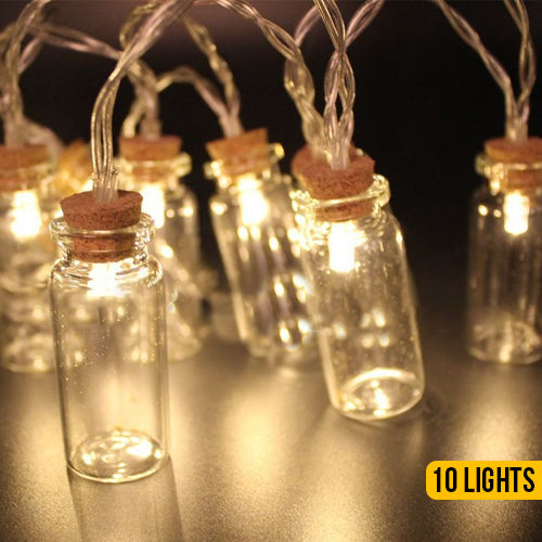 LED Bottle String Lights