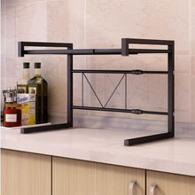Load image into Gallery viewer, Expandable Kitchen Microwave Oven Rack