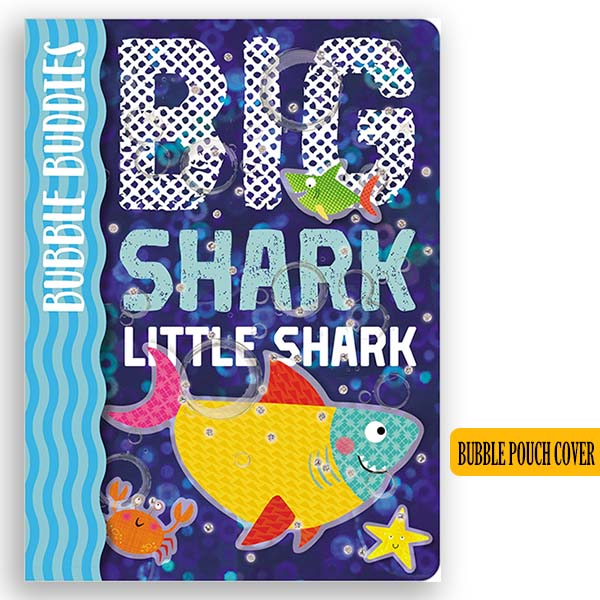 Big Shark, Little Shark - Bubble Pouch Cover