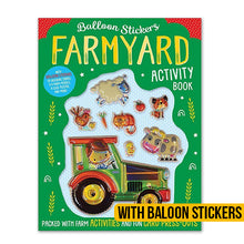 Load image into Gallery viewer, Balloon Stickers Farmyard Activity Book