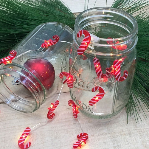 LED Wire Christmas Deco lights - Candy Caines