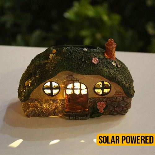 Solar Powered Fairy House Pathway