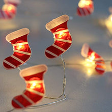 Load image into Gallery viewer, Festive Magic LED Wire Christmas Deco lights - Santa Boots