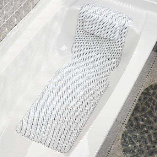 Non-Slip Body Spa Bath Pillow Mat Cushion