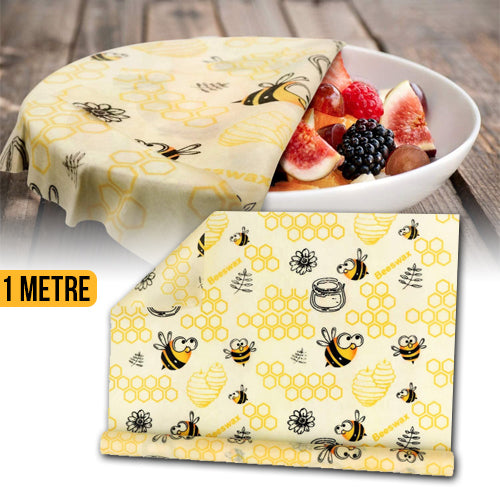 Reusable Nature Beeswax Food Wraps 1 Meter Roll