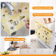 Load image into Gallery viewer, Reusable Nature Beeswax Food Wraps 1 Meter Roll