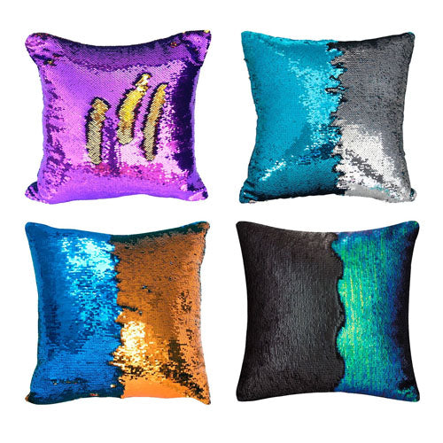 4 Pack Reversible Sequins Cushion Covers