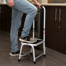Load image into Gallery viewer, Stepmaxx Stool With Hand Rail
