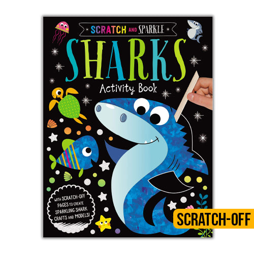 Scratch & Sparkle Shark Activity Book