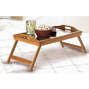 Bamboo Fold Up Lap Tray