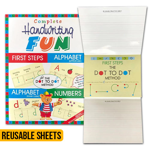Complete Handwriting Fun - With Reusable Practice Sheets