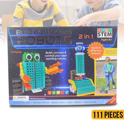 Build Your Own Robots 111 Pieces