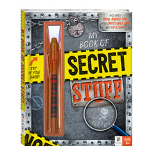 Load image into Gallery viewer, My Book of Secret Stuff - Invisible Ink
